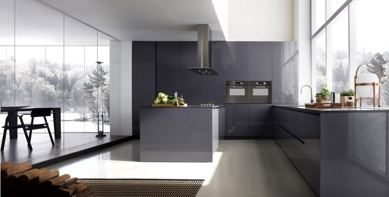Kitchen and living-dining room. The perfect binomial