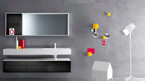 SHAPE BY FALPER mueble de baño elegante y exclusivo