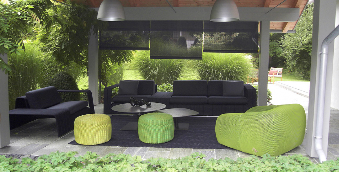 Outdoor furniture. The days to enjoy the outdoor are here