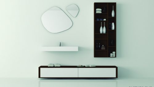FORRO BY BANNI mueble de baño de madera natural exclusivo