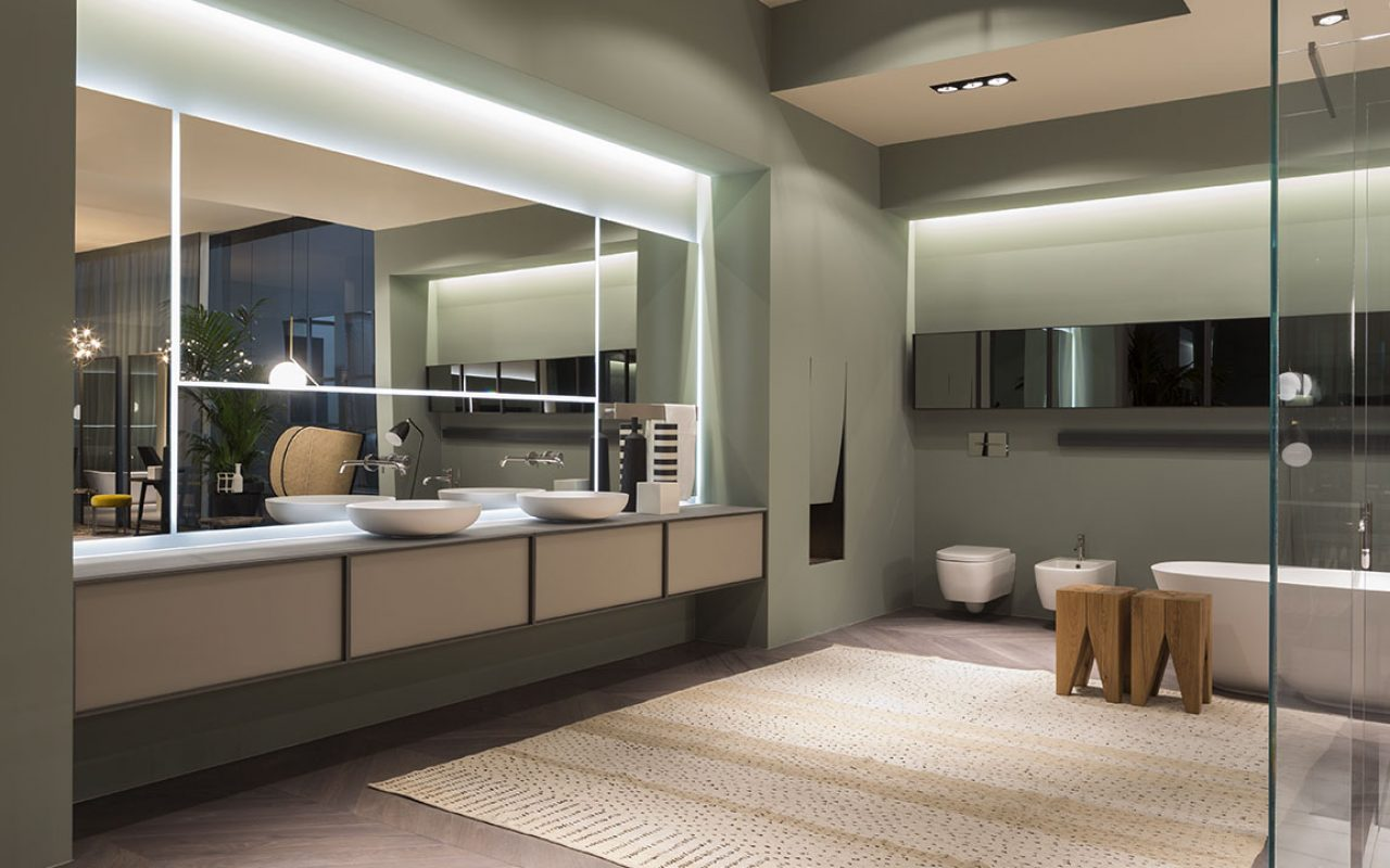 Italian design bathrooms, modern, luxury and custom